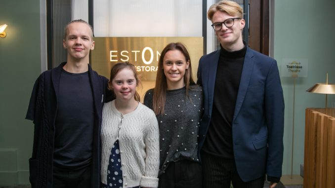Matz Topkin, Maria Rein, Susannah Kaul ja Robin Liksor