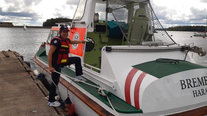 Vabatahltik merepäästja Aive Mõttus