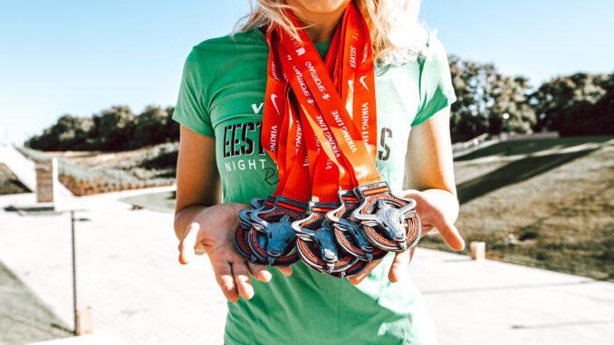 Ööjooksu medalid