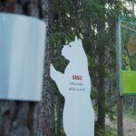 Kakerdajas avati Eesti esimene helkuritega märgistatud rabarada