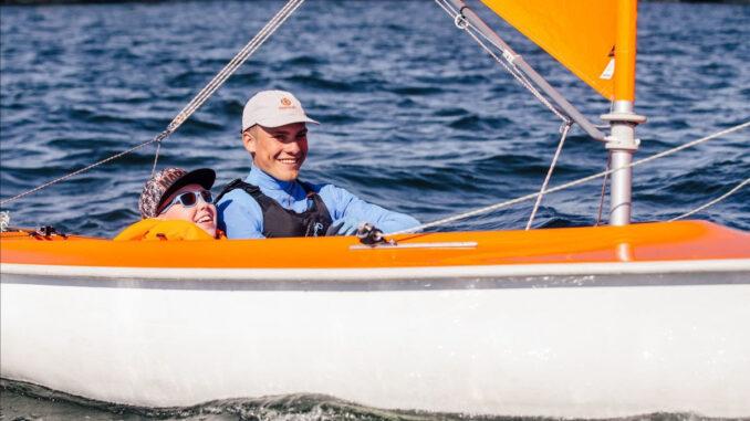 Eriliste purjetajate üritus Tallinnas Lennusadamas, fotol paremal Uko Rasmus Tiidemann Foto: Erilised purjetajad