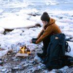 Üksi kuu aega talvises metsas: mida pakkis matkasell Heleri Hanko oma seljakotti?