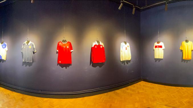 Jalgpallteemaline näitus spordimuuseumis