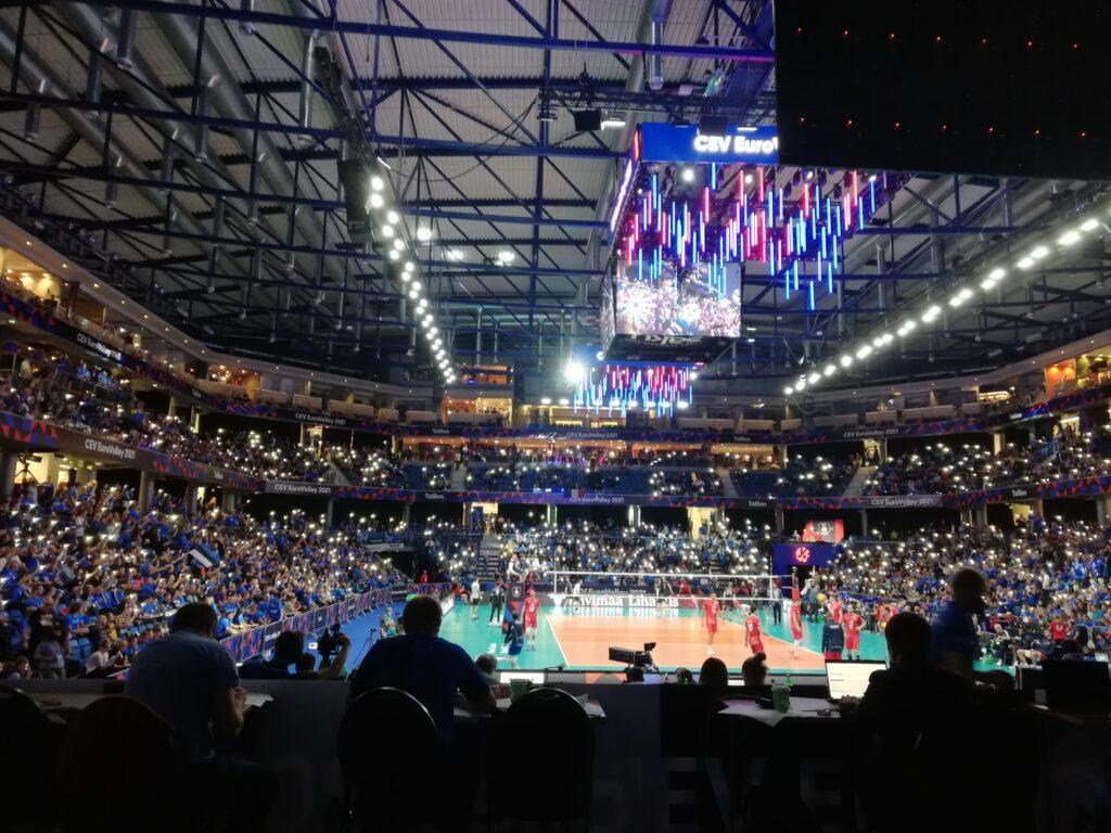 Avakohtumise Eesti vastu sai Läti mängida ja võita täismaja ees